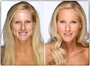 Beauty Portraits before & after